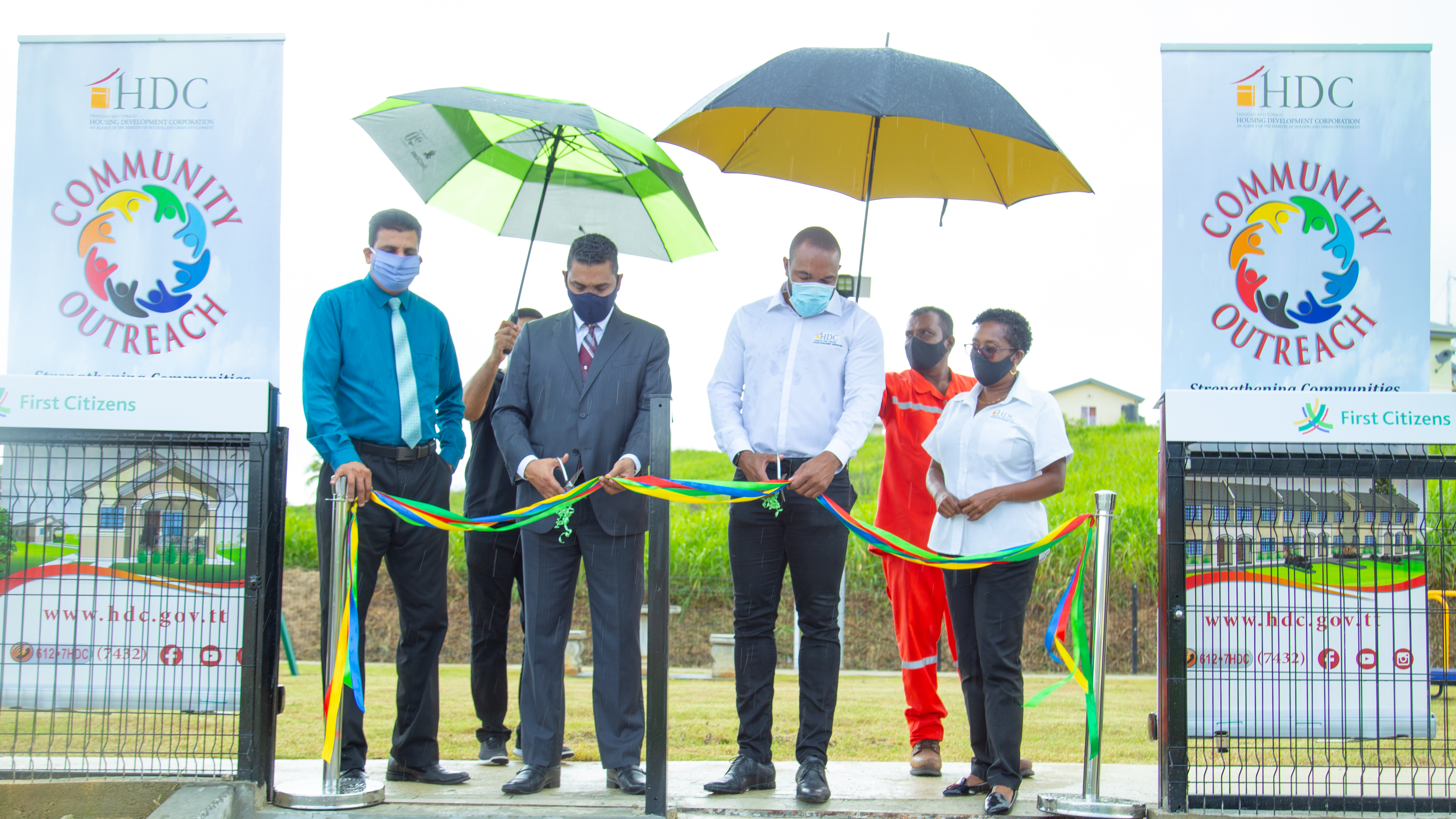 HDC and First Citizens partner to construct play park